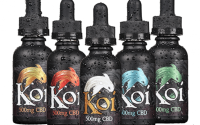 a picture of Koi CBD e-liquid
