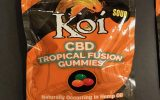 a picture of koi cbd gummies sour